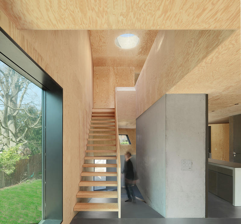 Casa Curved Daluz Gonzalez Architekten Basel Switzerland Modern Interior Exterior Wooden Design Garden Houses Homes Architect Architecture