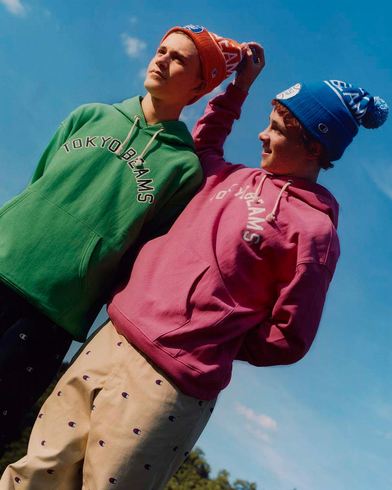 Champion x BEAMS Fall/Winter 2018 Collection Lookbooks Video