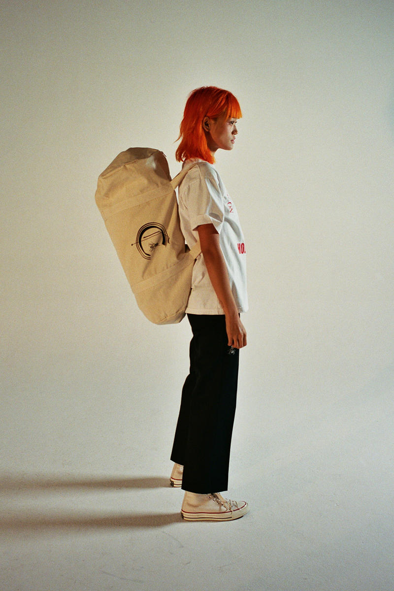 Cherry Los Angeles Dr. Woo Capsule release info hoodies T-shirts pants bags accessories black white