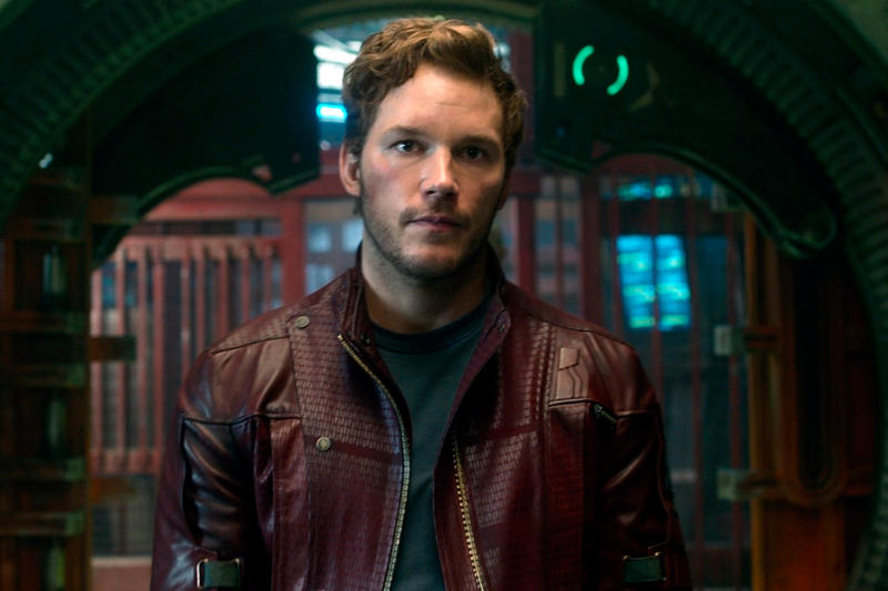 Chris Pratt James Gunn Guardians of the Galaxy Firing