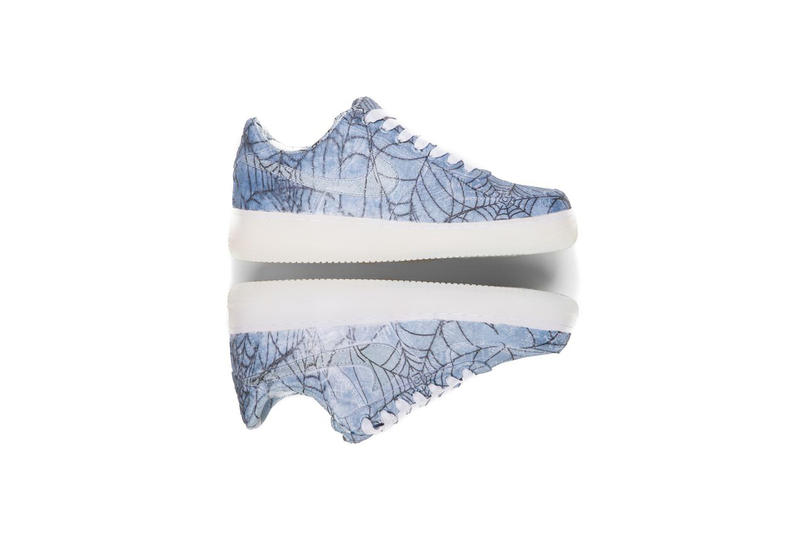 CLOT x NikeLab Silk Air Force 1 'Hydro Dipped' Sneaker Details Shoes Sneakers Kicks Trainers Footwear Cop Purchase Buy Highly Limited Quanitites Rare