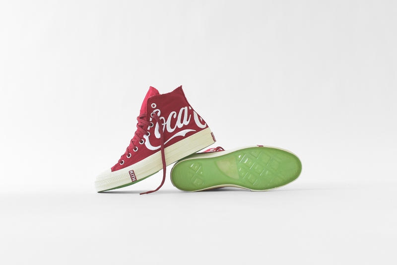 169e2f012bfd Coca Cola x KITH Summer 2018 Capsule Collection Ronnie Fieg Converse Chuck  Taylor 70 Apparel August