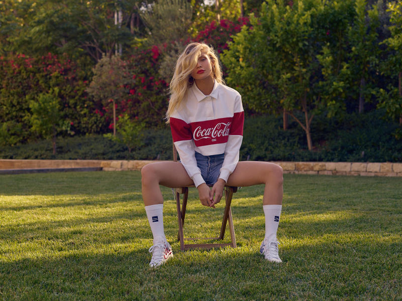 Coca Cola x KITH Summer 2018 Capsule Collection Ronnie Fieg Yellow Rugby Shirt Converse Chuck Taylors