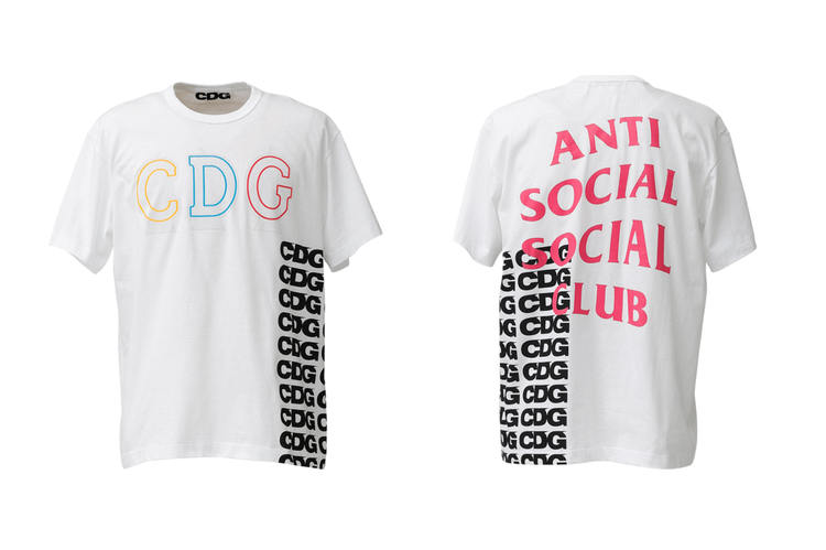 2d93187b COMME des GARÇONS CDG x Anti Social Social Club T-Shirts Drop Online
