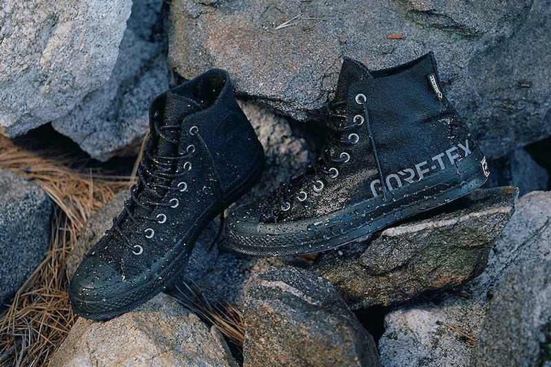 GORE-TEX x Converse Chuck Taylor All Star 70 pack release sneaker colorways logo print black
