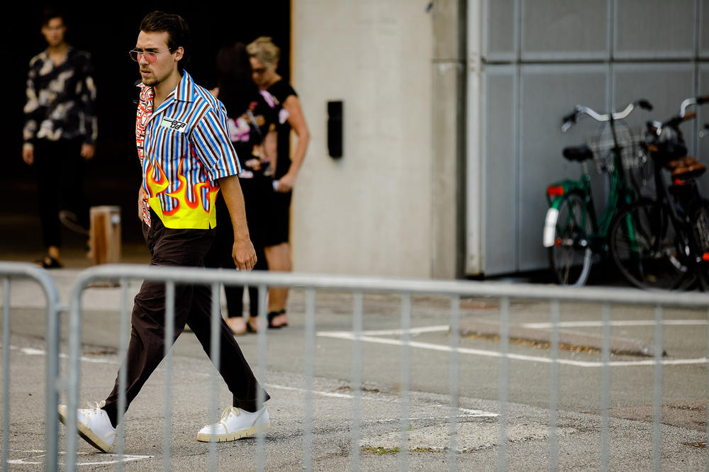 Copenhagen Fashion Week Spring/Summer 2019 Street Style CIFF ACW A-COLD-WALL* Yung-1 Burberry Supreme Prada Naomi Campbell Aries Palm Angel Dior Gucci Gosha Kaws Uniqlo Sesame Street Y-3 adidas High End