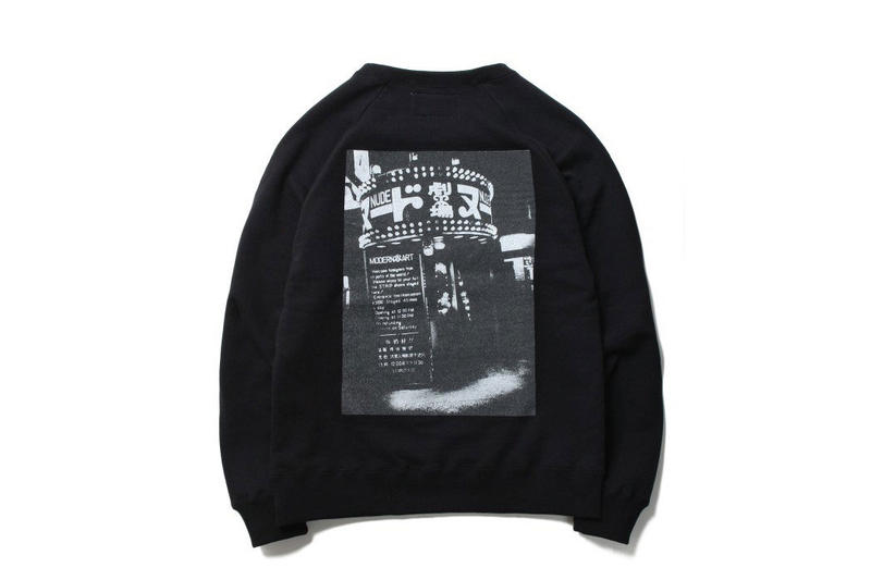 Daido Moriyama WACKO MARIA Fall Winter 2018 collection coaches jacket photograph sweater t shirt