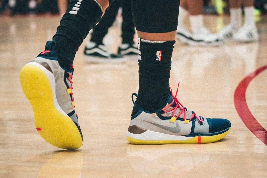 DeMar DeRozan Debuts New Nike Kobe ADs