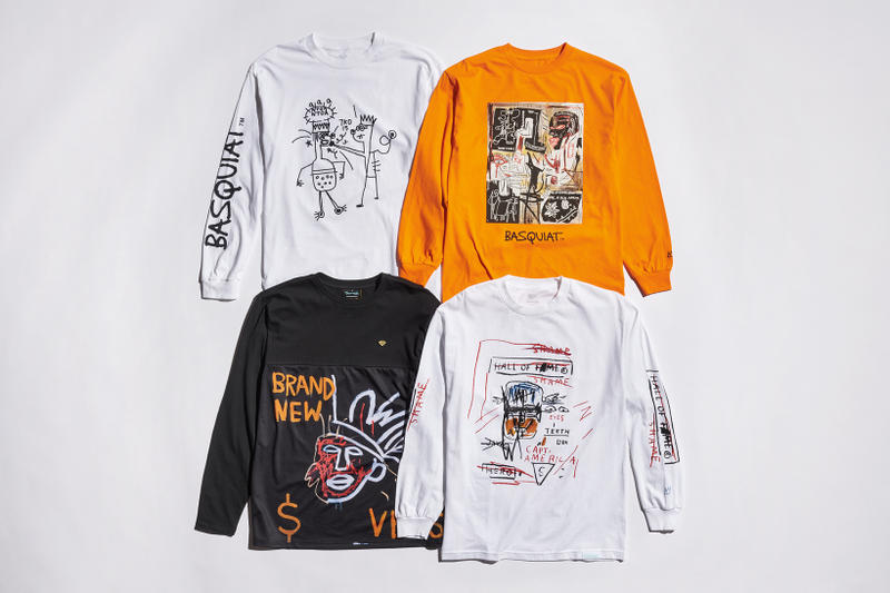 diamond supply co jean michel basquiat collection clothing apparel style streetwear fashion