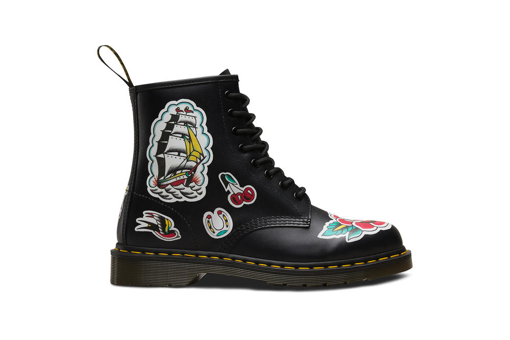 Dr. Martens Unveils Special Edition FW18 Tattoo Collection