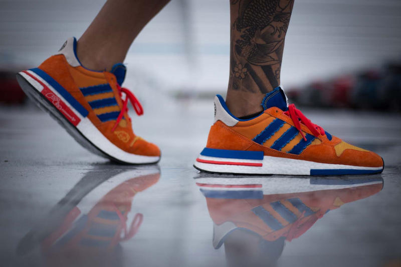 finest selection 9393f 9edf9 Dragon Ball Z x adidas ZX500 RM
