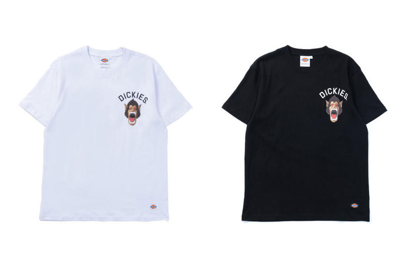 Dragon Ball Z Dickies Japan Collaboration collection tee shirts shenron drop release date buy purchase info goku nimbus ape son