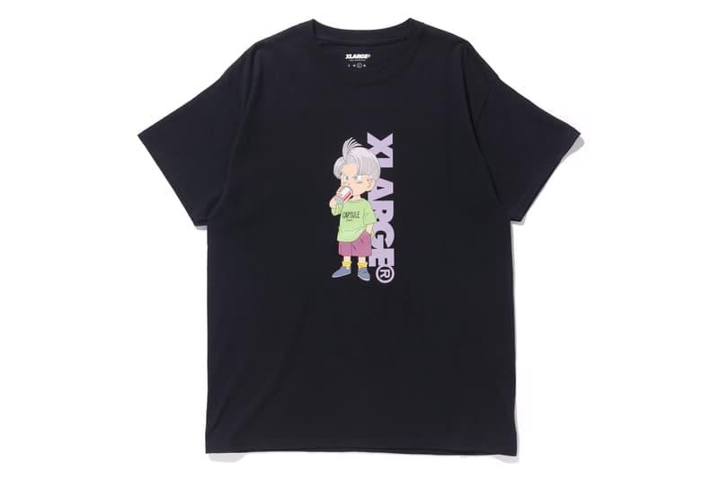 Dragon Ball Z XLARGE Capsule Collection Short Sleeve T shirt Kid Buu Trunk Bulma