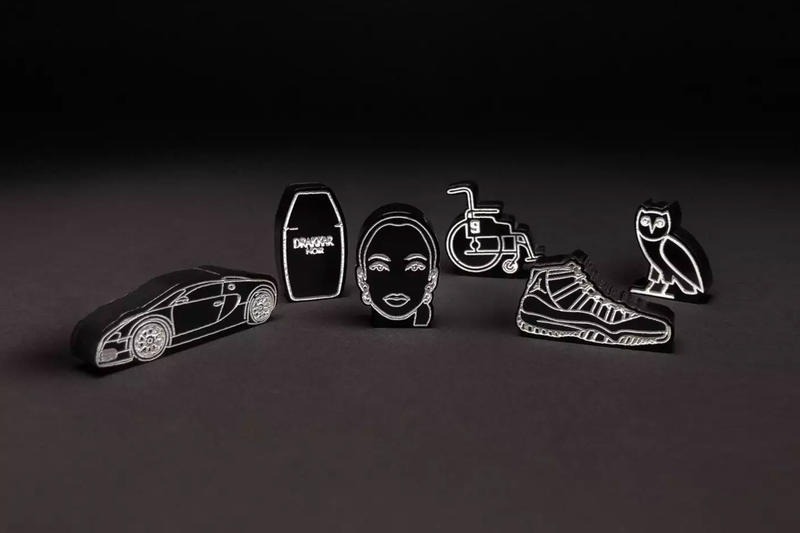 Drake Custom OVO-Themed Monopoly Set october's very own board games toronto owl Scotiabank Arena