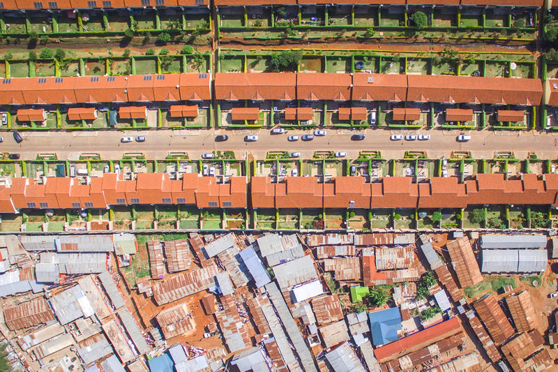 Johnny Miller 'Unequal Scenes' Drone Photography