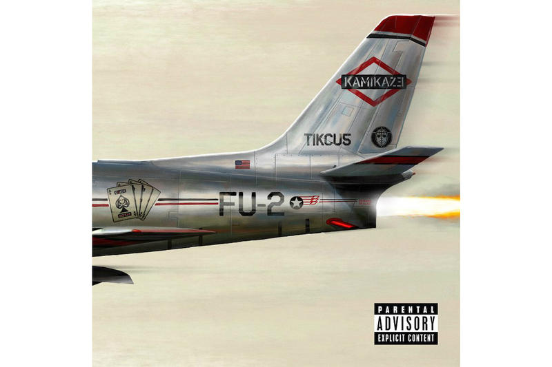 Eminem Kamikaze Surprise Album Stream Spotify Apple Music iTunes