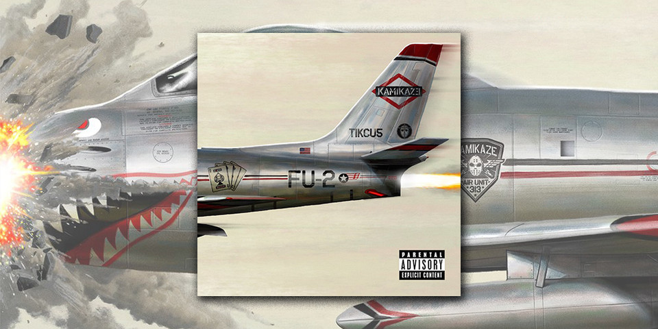 Eminem Revival Album Cover >> Stream Eminem's New Surprise Album, 'Kamikaze' | HYPEBEAST