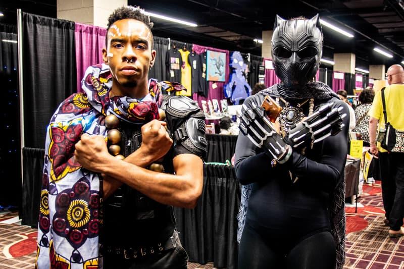 Black Panther Culture Wakanda WakandaCon Forever Chicago Marvel Cinematic Universe Baraka Kaseko
