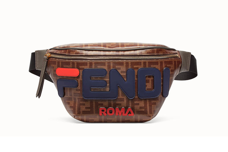 The FILA x Fendi Monogrammed Waist Bag Can Now be Pre-Ordered