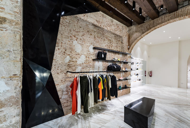 Foot District New Boutique Barcelona opening spain move shop outpost location design interior luxury