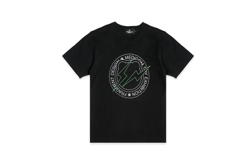 Fragment Design X Medicom Toy Circle Logo T Shirt Hypebeast