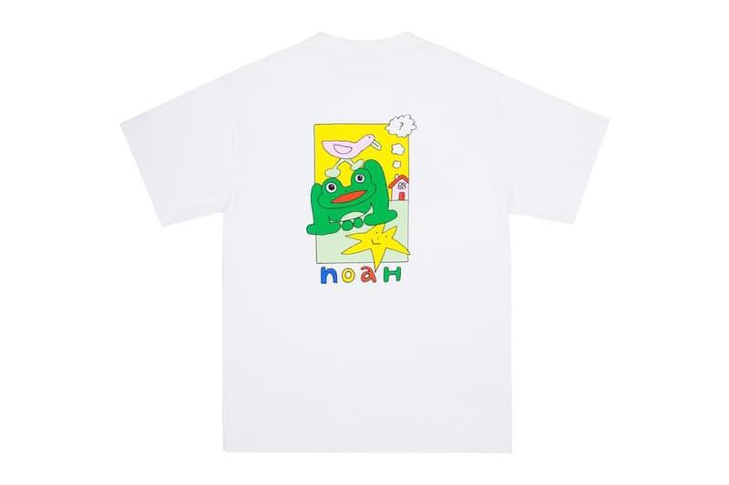 Noah frog skateboards collaboration