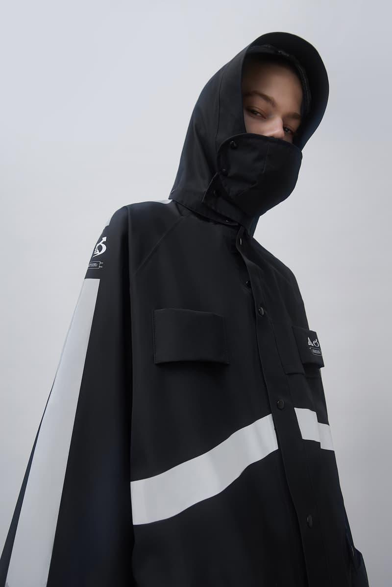 Gentle Monster Xander Zhou Collaboration GMXZ Raincoat release info outerwear