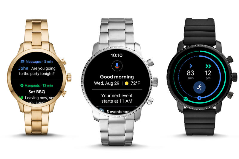 Google Wear OS Interface Android Wear Update Fit