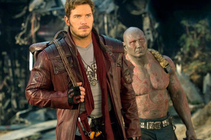 Guardians of the Galaxy Vol. 3 star lord Chris pratt