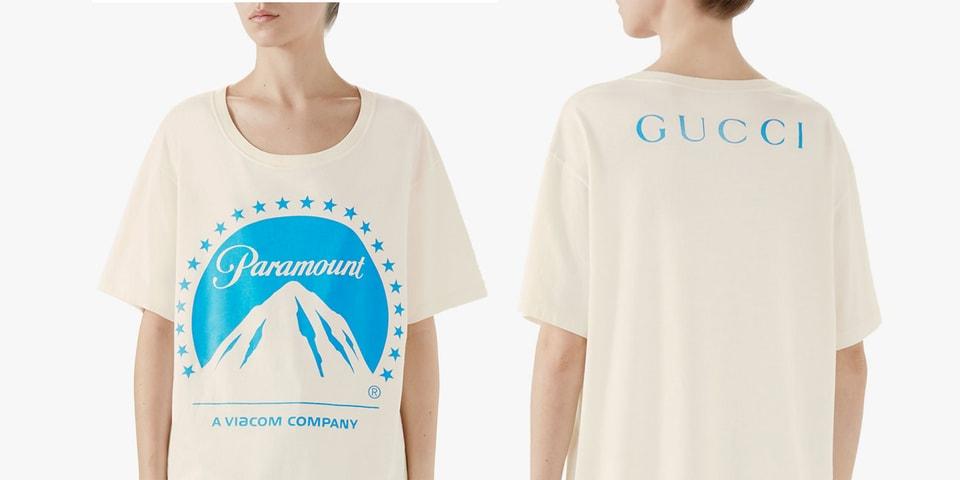 1fac01e17daa Gucci's Paramount Studio T-Shirt Costs $590 USD | HYPEBEAST