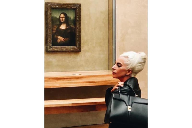 Hedi Slimane Lady Gaga Céline First Bag Design Black Leather Phoebe Philo Paris