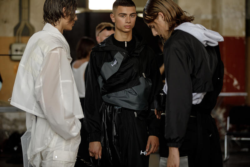 HELIOT EMIL Spring Summer 2019 copenhagen fashion week exclusive backstage Julius Victor Juul Referential Transparency