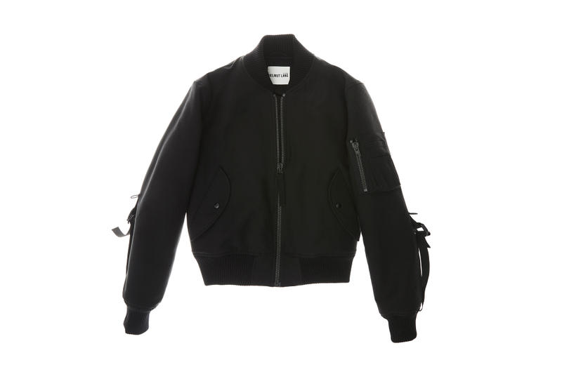 helmut lang re edition byronesque collection third bondage bomber 2003