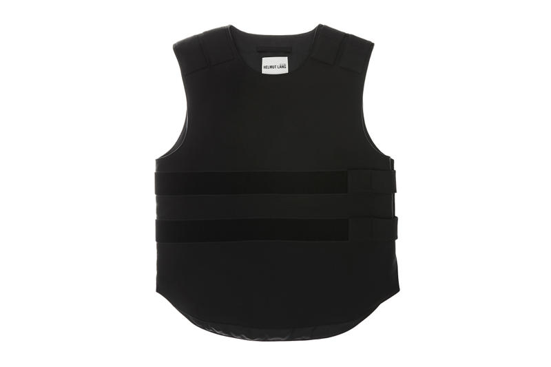 helmut lang re edition byronesque collection velcro bulletproof vest 1997