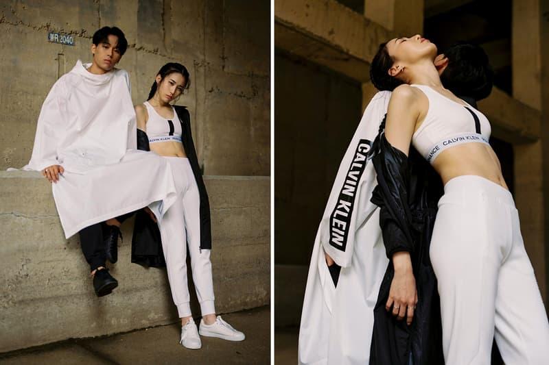 Hoody Sik-k Calvin Klein Performance Fall 2018 Lookbook collection clothing shorts pants jacket shirt top bottom tee hoodie white black