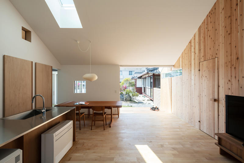 Horibe Associates Japanese Home house dwelling structure architecture shiba prefecture