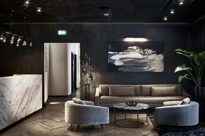 Hotel Pacai Vilnius Lithuania Hotels Modern Interior Exterior Sleek Design Architecture YES.design.architecture Saulius Mikštas Mid Century Old Meets New Historic