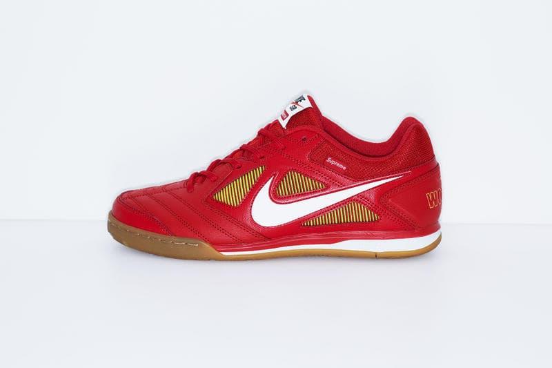Supreme x Nike SB Gato red yellow white black