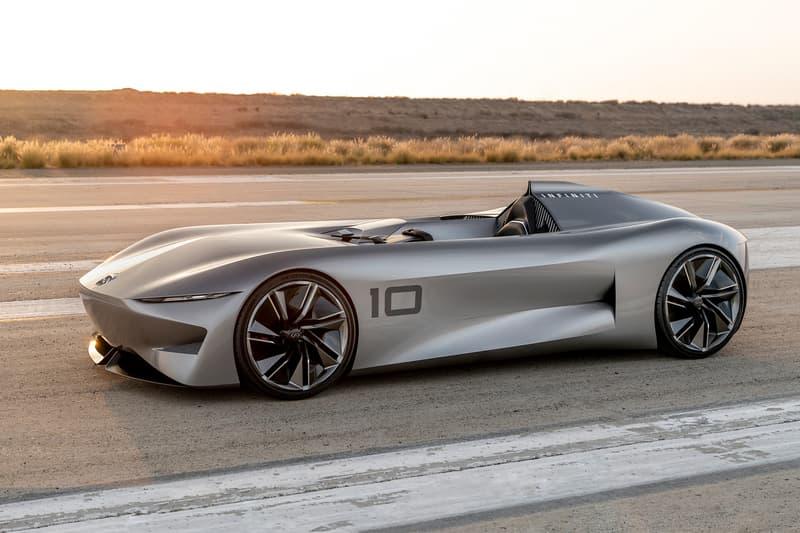 Infiniti prototype 10 concept car pebble beach tour delegance automotive show california august 2018 debut race track model