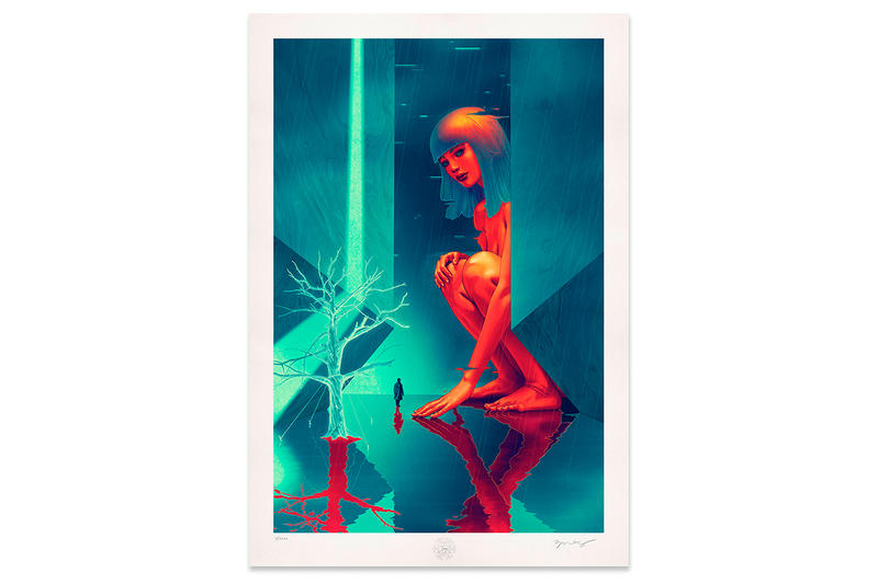 James Jean Retroflect Giclée Print Release Time Limited 24 hours Date Print Drop Blade Runner 2049 Joi