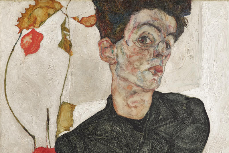 fondation louis vuitton jean michel basquiat egon schiele retrospective exhibitions shows art artworks paintings