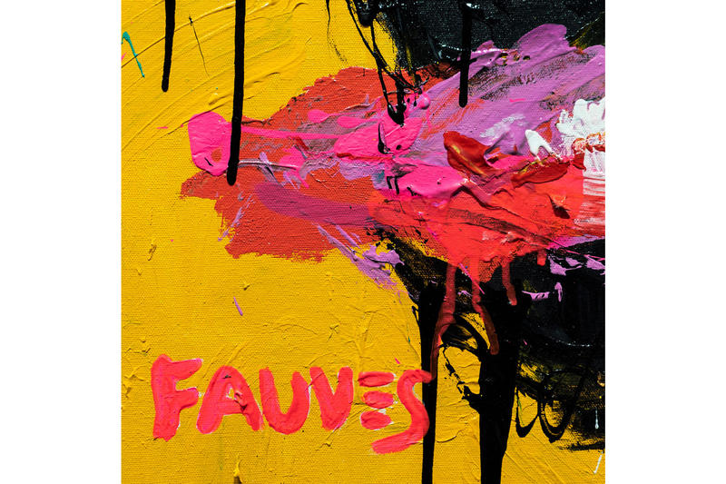 john paul fauves mi me dopeness art lab taipei taiwan exhibitions shows artworks paintings cartoon characters