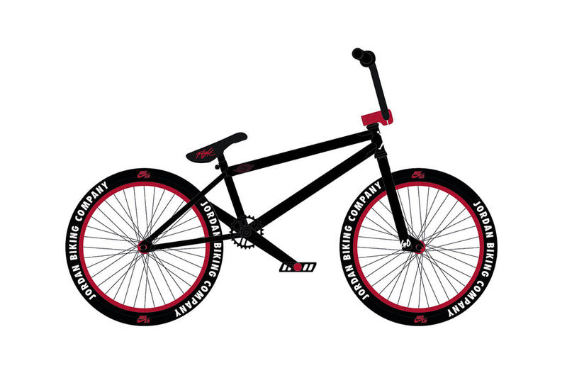 Jordan Brand Biking Company BMX Bike Nigel Sylvester Bicycle