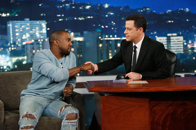 Kanye West Jimmy Kimmel Live Episode Thursday Hurricane
