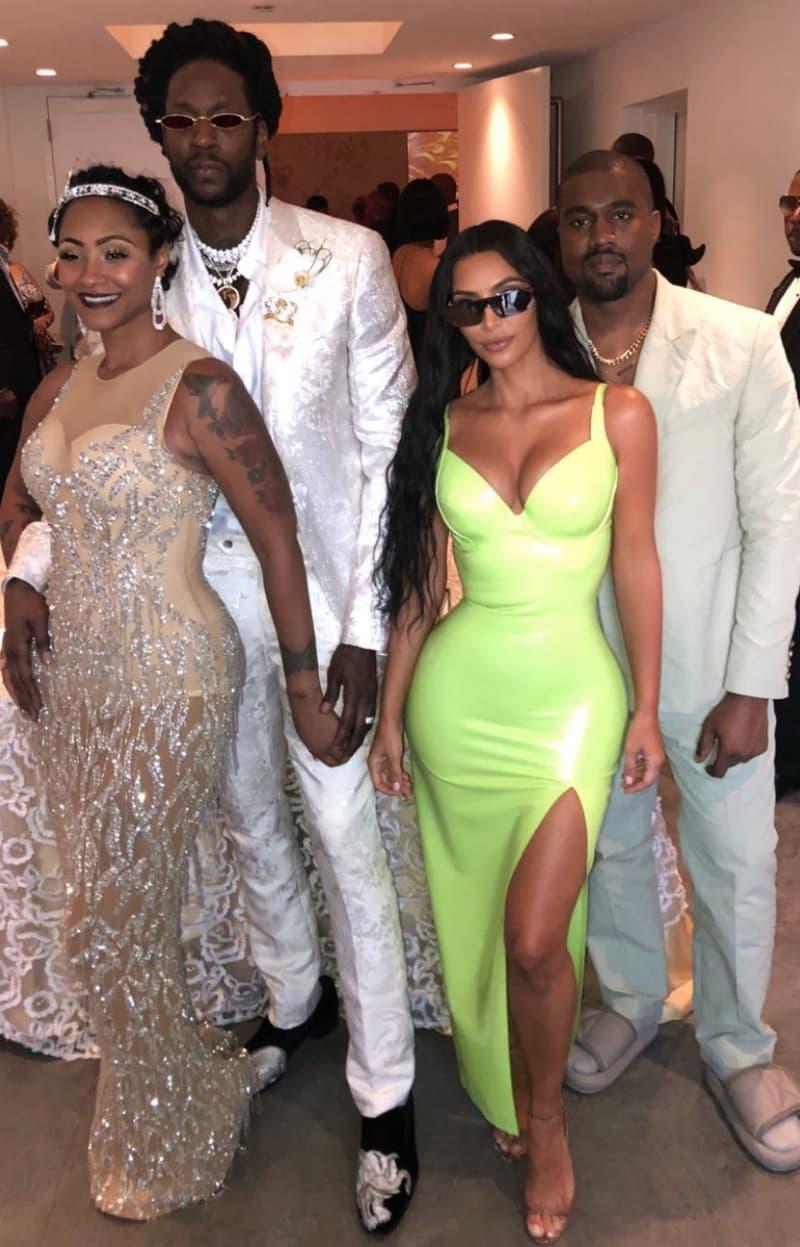 Kanye Wears Virgil Abloh-Designed Louis Vuitton Suit