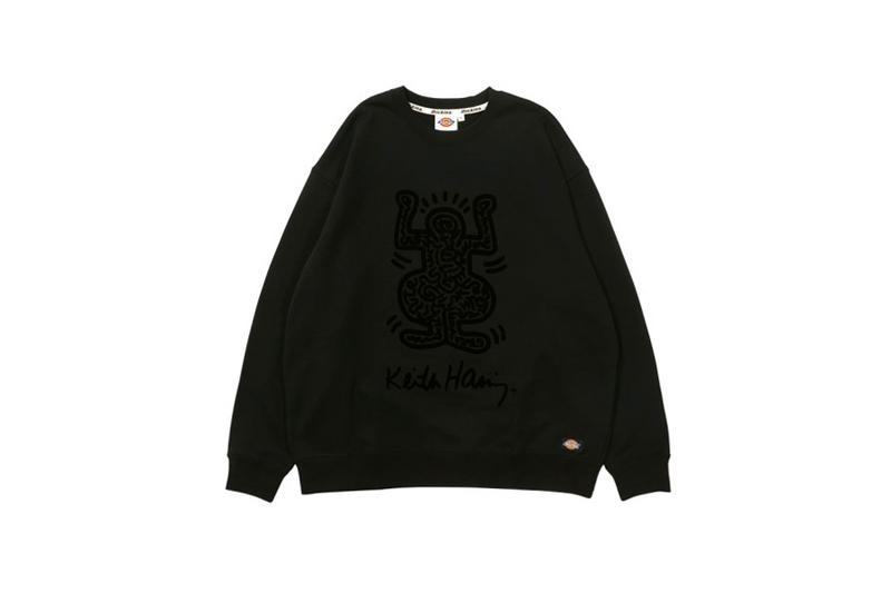 Keith Haring Dickies Fall Winter 2018 Black Line collection collaborations jackets sweaters pants