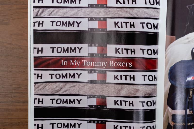tommy hilfiger kith fall winter 2018 catalog closer look ronnie fieg