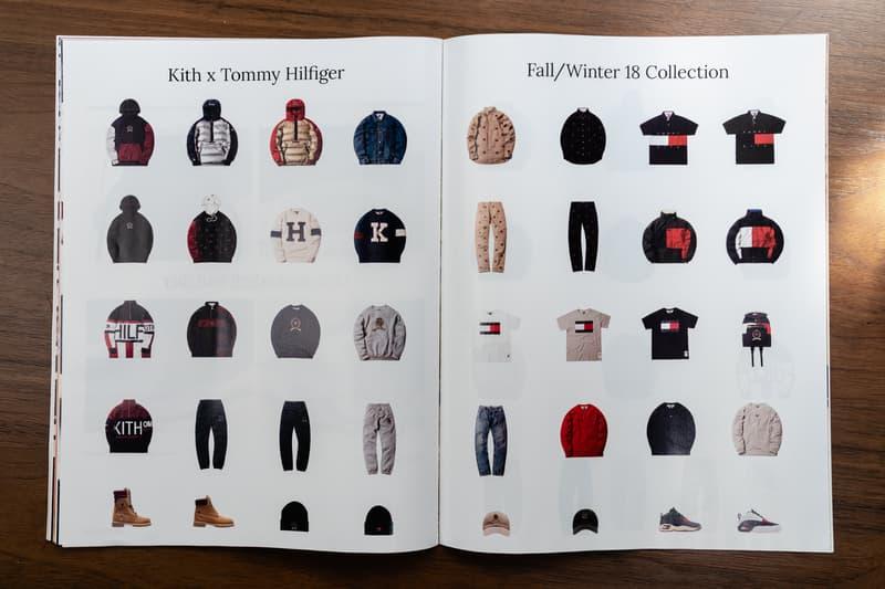 9237b7ddf7 tommy hilfiger kith fall winter 2018 catalog closer look ronnie fieg