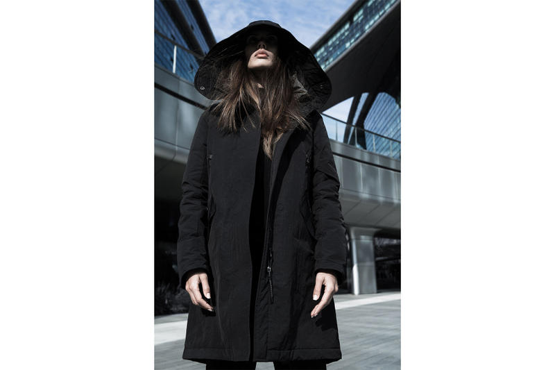 KRAKATAU Fall Winter 2018 Collection Lookbook zaha hadid outerwear coats military