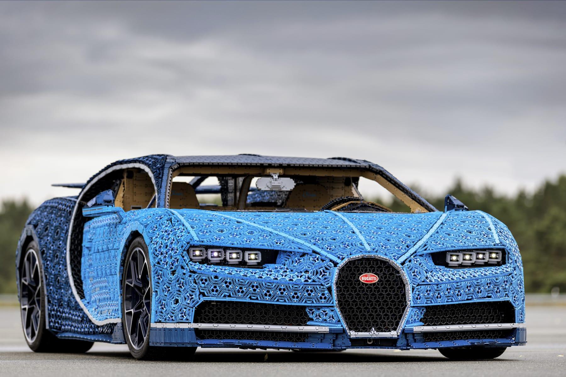 Lego Technic Bugatti Chiron Life Size Model Hypebeast